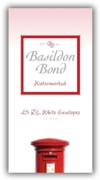 BASILDON BOND,Envelopes DL White 25's