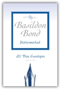 BASILDON BOND,Envelopes No.2 Blue 20's