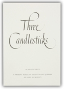 3 CANDLESTICKS PADS,No.3 White 50's