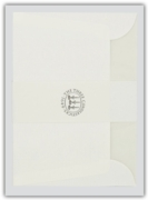 3 CANDLESTICKS ENVELOPES, C6 White 20's