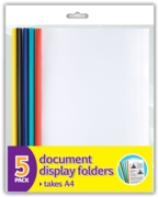 DISPLAY FILE,Slide Binder A4 5's