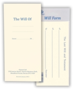 WILL FORM,H/pk