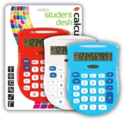 CALCULATOR,Student Dual Power Asst.  I/cd