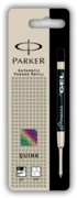BALL PEN GEL REFILLS,Black Med (Parker)
