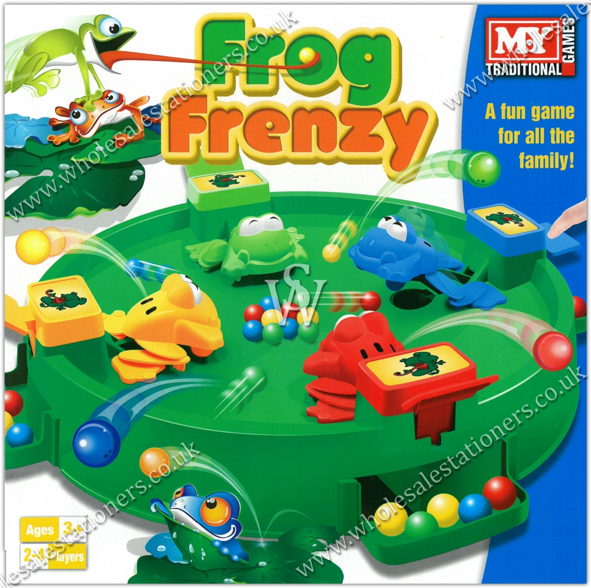 GAME,FROG FRENZY,Bxd 'MY'