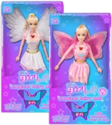 FAIRY DOLL,Magical with Light Up Wings 2 Asst.Bxd