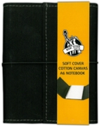 NOTEBOOK,Canvas Cover A6 (£3.99)