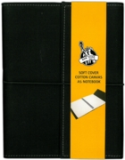NOTEBOOK,Canvas Cover A5 (£6.99)