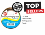 BUFF TAPE,Poly/Prop 48x66 Club (Multi Carton Price,2x36pc)