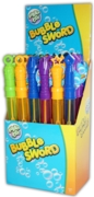 BUBBLE SWORD,38cm CDU (Carton Price,4x25pc)