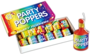 PARTY POPPERS,12's Traditional,Bxd. CDU