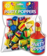 PARTY POPPERS,20's H/pk