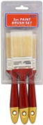 PAINT BRUSH SET,3pc H/pk