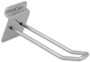 SLAT WALL FITTING,Double Prong Metal 100mm 4in