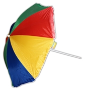 BEACH PARASOL,158cm UPF 40+   in Poly Carry Bag