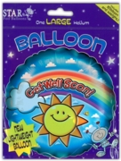 BALLOONS,Get Well Soon Unisex Helium Foil (£2.29)
