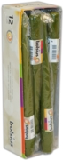 CANDLE,Taper Green 24.5cm Bxd