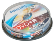 PHILIPS DVD+R 10's Spindle Pack