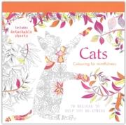 ADULT COLOURING,Cats (£7.99)