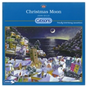 JIGSAW,1000pc.Christmas Moon (Dartmouth) (Gibson)