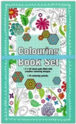 ADULT COLOURING,Travel Set with Colouring Pencils CDU