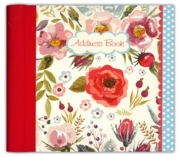 ADDRESS BOOK,Vintage Blooms