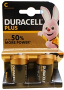 DURACELL Batteries C 2's I/cd