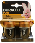 DURACELL Batteries D 2's I/cd