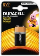 DURACELL Battery 9V  I/cd