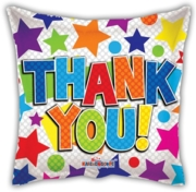 "BALLOONS,Thank You 18"" Helium Foil (£1.99)"
