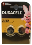 DURACELL Batteries Button Cell 2032 3V Lithium 2's I/cd