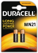 DURACELL Batteries MN21 12V Alkaline  2's I/cd