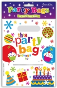 PARTY BAGS,Cakes & Candles 10's