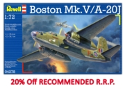REVELL Model Plane,Boston Mk.V / A-20J 1:72 (-20%)