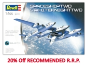 REVELL Model. SpaceShipTwo & WhiteKnightTwo 1:144 (-20%)