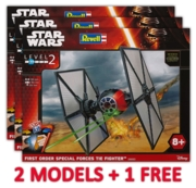 REVELL Easykit,Special Forces Tie Fighter (2 + 1 Free Deal)