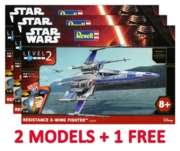 REVELL Easykit,Resistance X-Wing (2 + 1 Free Deal)