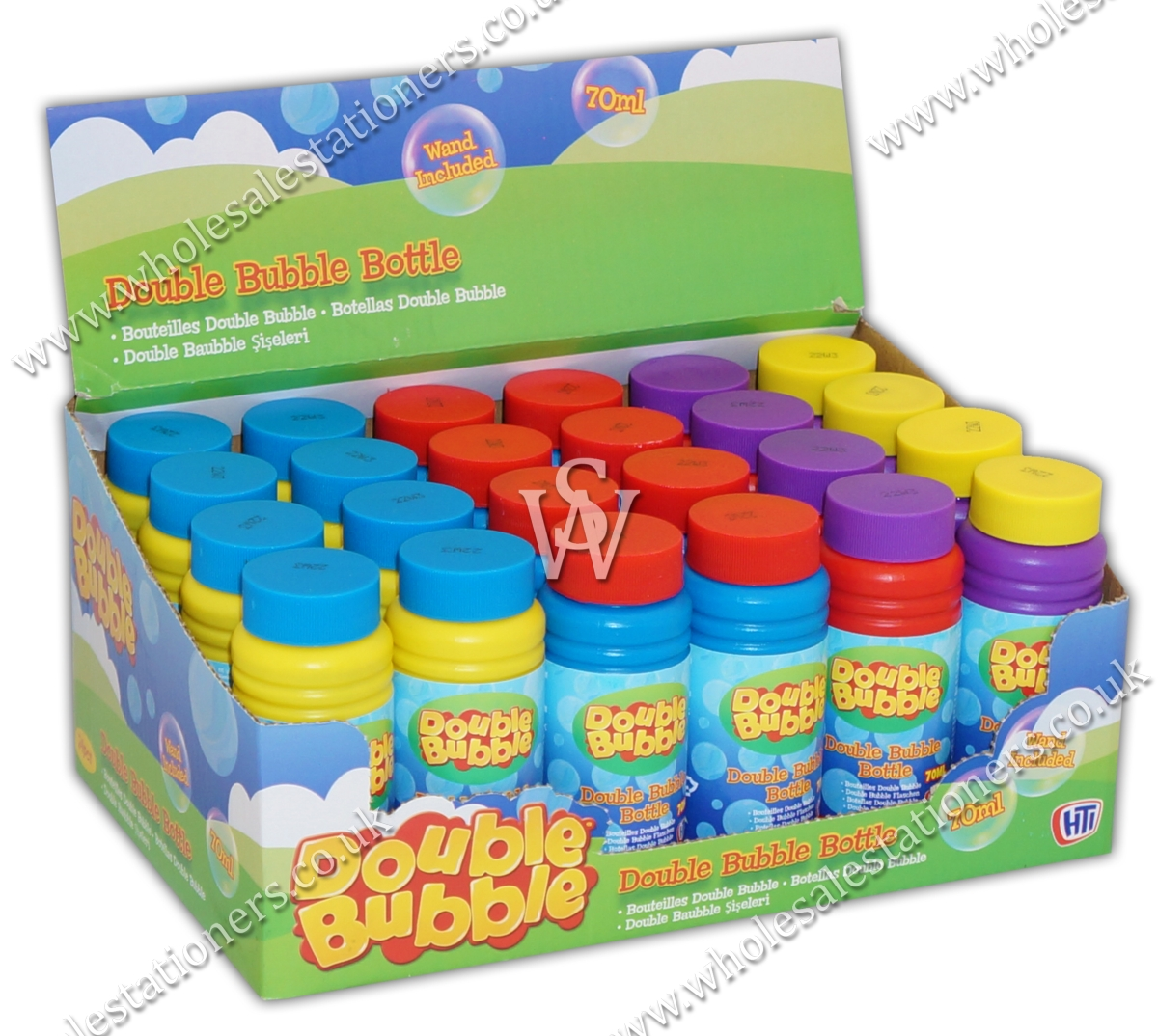 BUBBLE TUBS,70ml CDU - Wholesale Stationers