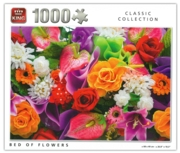 JIGSAW,1000pc.Bed Of Flowers