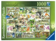 JIGSAW,1000pc.Country Life The 1900's (Ravensburger)