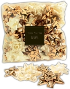 BOW,Gold/Cream Mega Mix Des 30's H/pk
