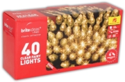TREE LIGHTS,Indoor Clear 40's Boxed