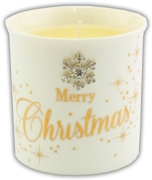 CANDLE,Mad Dots Xmas Scented (Was 9.99)