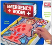 EMERGENCY ROOM GAME,Age 6+ 2-4 Players,B/op 'MY' Bxd