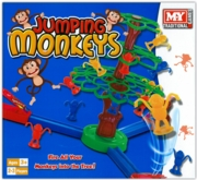 JUMPING MONKEYS GAME,Age 3+ 2-3 Players, 'MY' Bxd