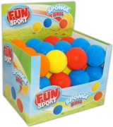 BALL,Tennis Soft 70mm CDU Sponge,Asst Col.