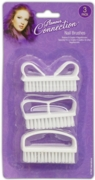 NAIL BRUSH,3 Assorted on Card H/Pk