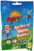 WATER BOMBS,Including Filler, 'Big Bag' of balloons,H/pk CDU