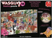 JIGSAW,1000pc.Fast Food Frenzy (Destiny 18)(Wasgij)