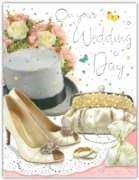 GREETING CARDS,Wedding Day 6's Top Hat, Shoes & Purse